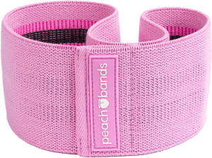 Peach Booty Resistance Band