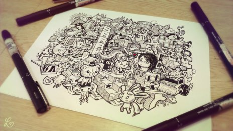 Lei Melendres | Architecture doodle