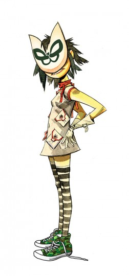 Noodle (Guitar, Keyboard and backing vocals)