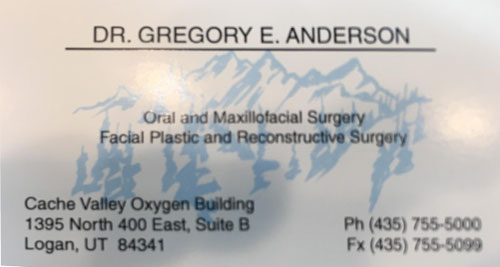 Gregory Anderson Oral Surgeon