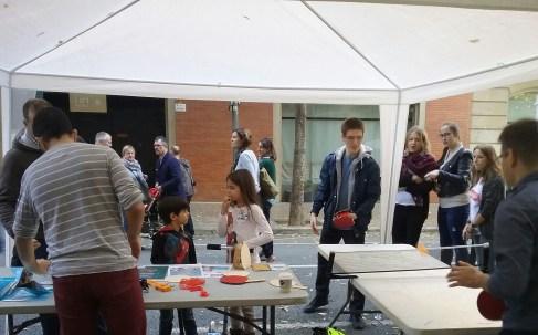 Mesa de ping pong en la WeMake15