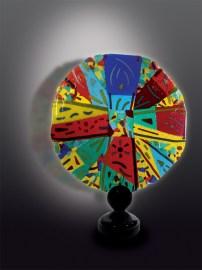 """""""Bisanzio"""", scultura in vetro di Silvio Vigliaturo"""