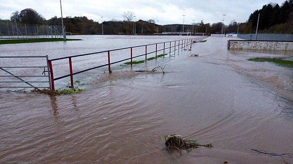 Turriff United football ground, Aberdeenshire