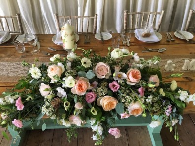 Top table flowers