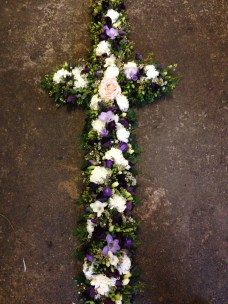 Funeral cross, prices starting from £120