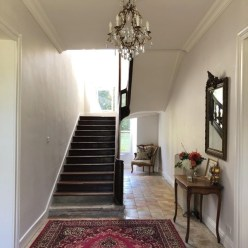 The décor at Château de la Ruche is truly enchanting.