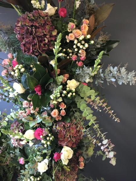 Foam free flowers