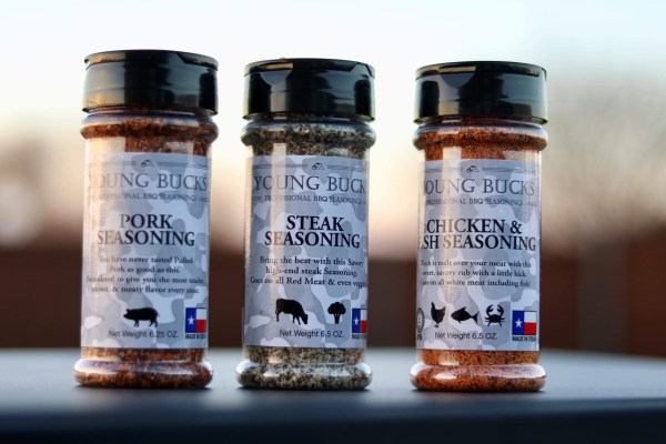 Young Bucks BBQ Steak Seasoning