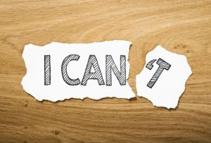 """Picture of """"yes, i can"""""""