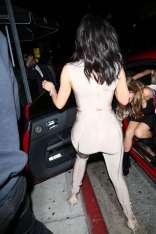 Kylie-Jenner-in-Bandage-Jumpsuit--27