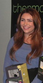 ACTRESS JULIANNA ROSE AT THE WOW OSCAR SUITE WITH THERMAL AID