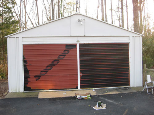 Painting A Garage Door Is Easy And Affordable- Here's How ... on Garage Door Paint Ideas  id=71335