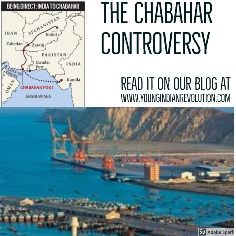 THE CHABAHAR CONTROVERSY