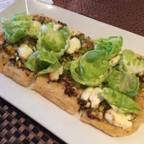 Sobo Cafe - Brussels Sprouts Flatbread Baltimore