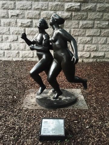 """Sisters-II"" Koh Jeong-Soo, 1981, Bronze"