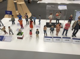 Examples of what the figurines look like