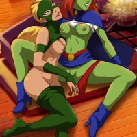 Artemis is going to show to Ms Martian what earth girls like to do when they have a sleepover party...