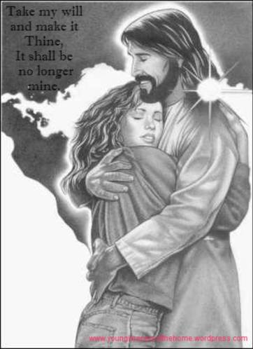 jesus and girl