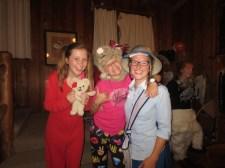 Aubin (Mailbu Mary) & Taylor (Lola) & I (Tina) at the end of the Opera