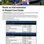 Trial bus services for Keppel Cove Estate
