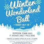 Winter Wonderland Ball – fundraiser for the Jason Rich Foundation