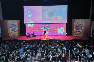 FOR SUNDAY MAIL/ STAGE FOR THE 10TH ANNIVERSARY YOUNG SCOT AWARDS.
