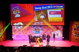 FOR SUNDAY MAIL Young Scot 2014 VIP: Deputy First Minister John Swinney. Young Scot Awards 2015, Usher Hall, Edinburgh.. FEE PAYABLE FOR ALL INTERNET USE All money payable:- Mark Anderson Flat 2/2 Glasgow G41 3HG