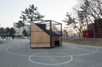 креативная спортплощадка в сеуле