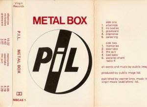 Альбом METAL BOX