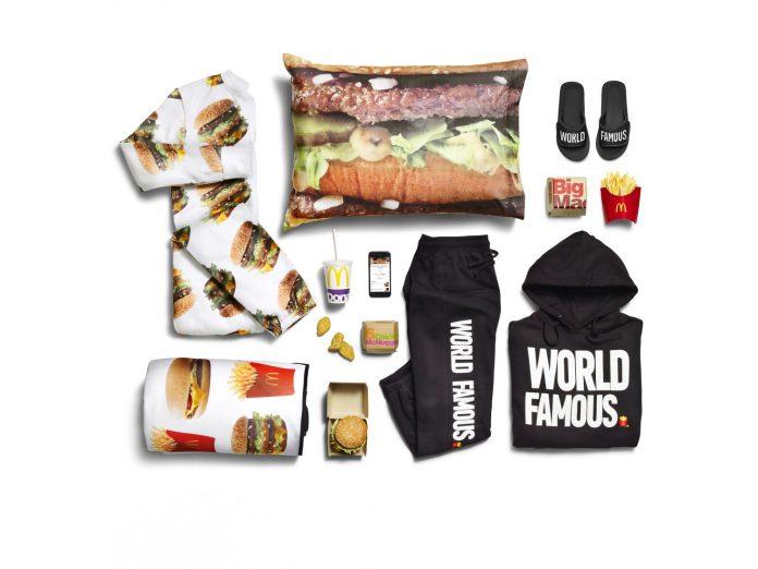 «Макдоналдс» выпустил линейку одежды с бургерами