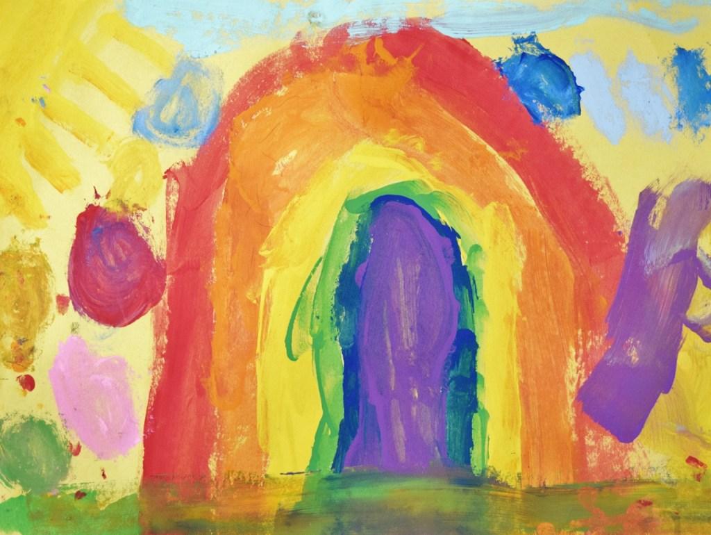 Kids Art - Rainbow