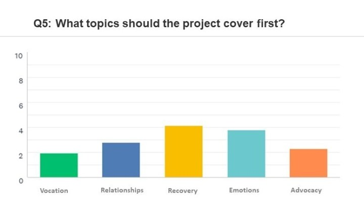 Q5: What topics should the project cover first?