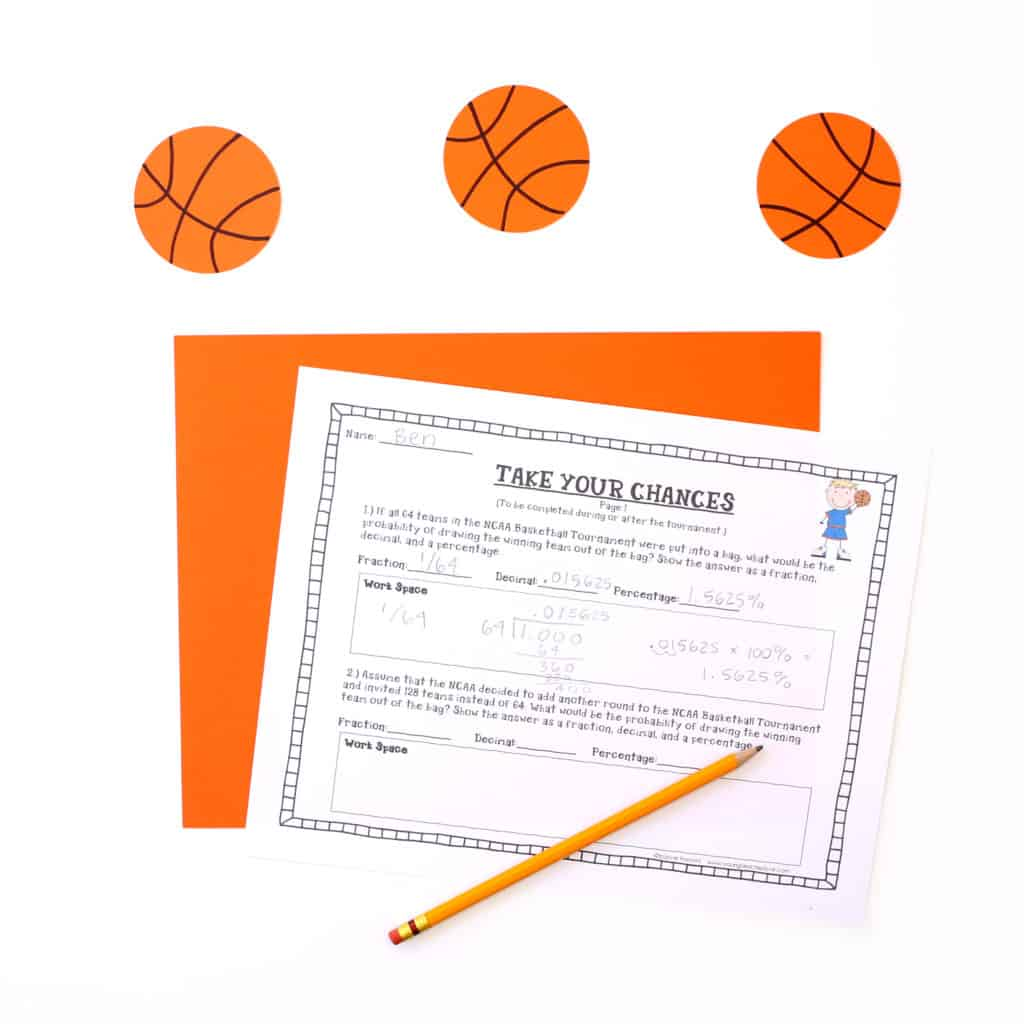 March Madness Basketball Tournament Math Project