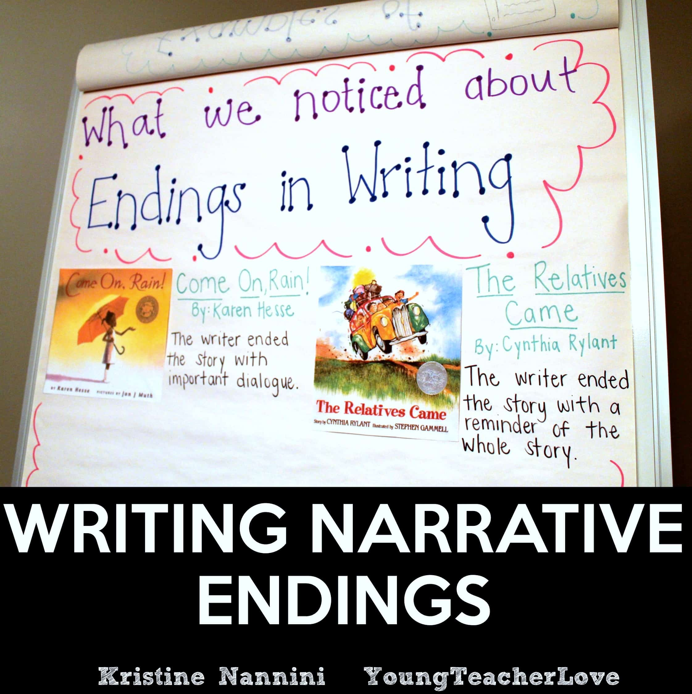 Writing Narrative Endings