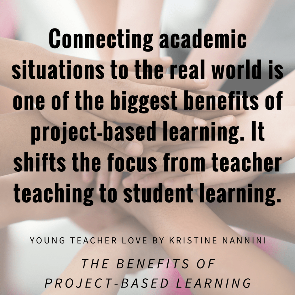 The Benefits Of Project Based Learning