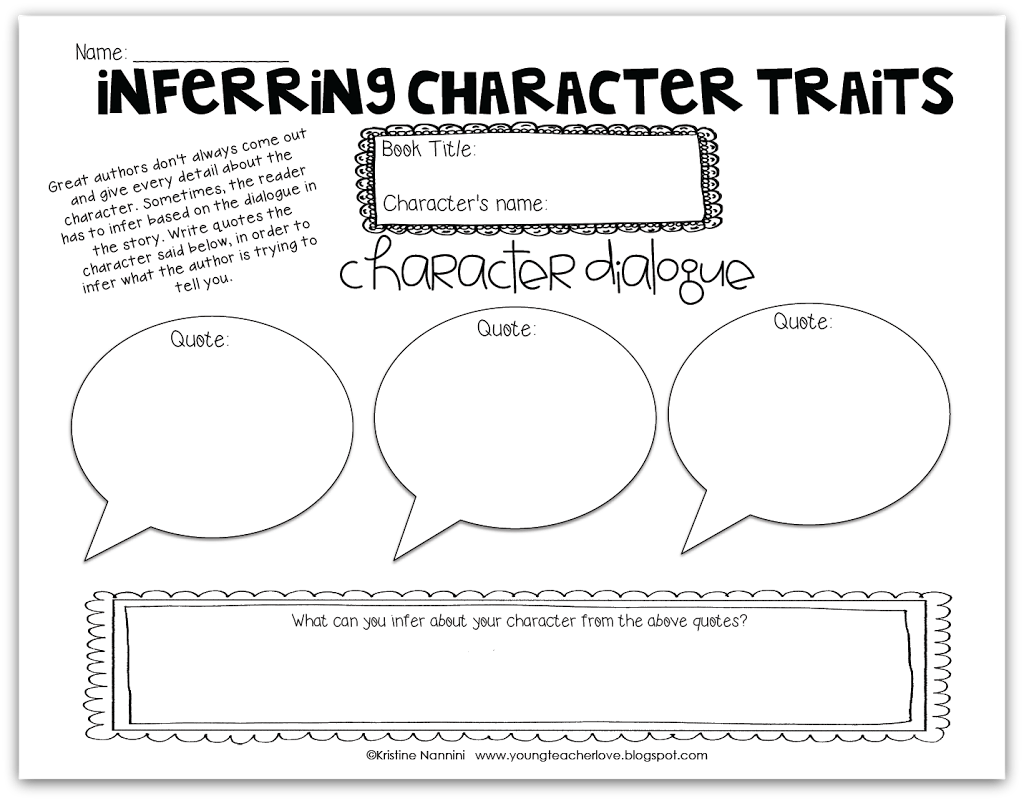 Reading Passages For 4th Grade Character Traits