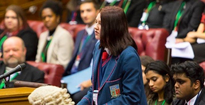 """""""Youth Voices Heard – in Parliament"""""""