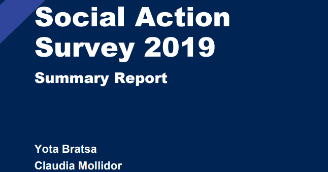 National Youth Social Action Survey 2019: Review