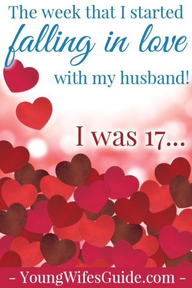 I starting falling in love with my husband when I was 17...here's our story!