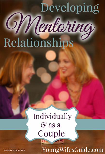God created us to be in relationships with fellow believers. Mentoring is a large part of that relationship as we see in Titus 2.