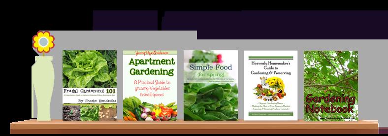 gardening, ebook, small spaces, apartment gardening, organic