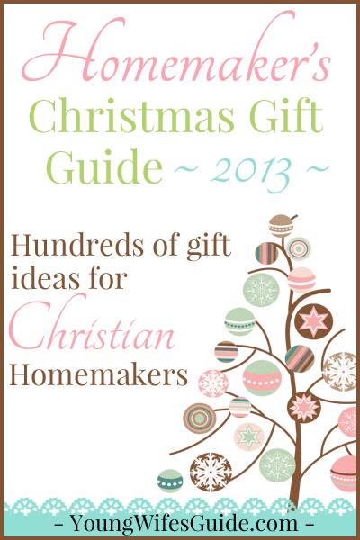 Homemaker's Christmas Guide Guide - 2013 Editon