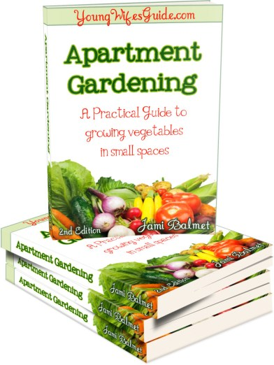 Apartment Gardening eBook Cover 2nd Edition 3D Cover