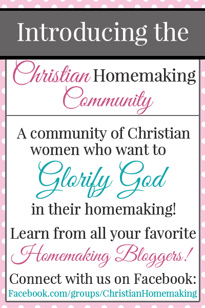 Introducing the Christian Homemaking Community
