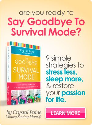 Say Goodbye to Survival Mode FREE Online book study!