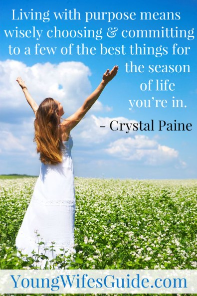 Click here to learn how to develop a list of your best things for this season of life!