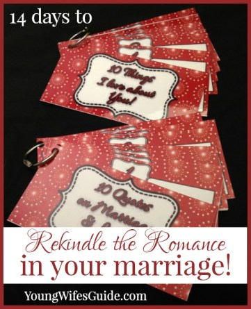 14 Days to Rekindle the Romance in Your Marriage