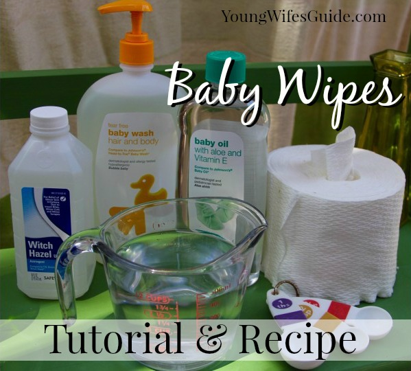 How To Make Homemade Baby Wipes On A Budget Tutorial