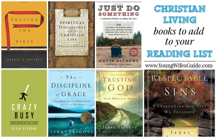 living with add book. christian living books to add your list with book t