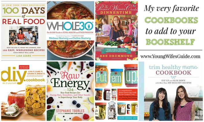 My very favorite cookbooks